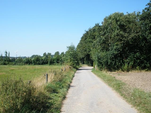 Umgebung - Strecke Fahrradtour